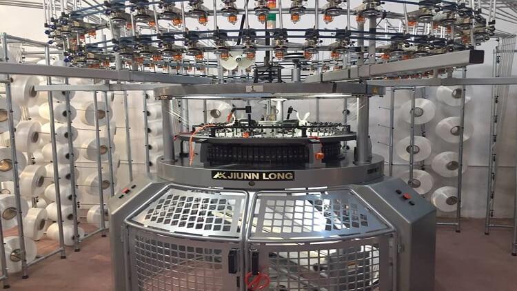 Jiunn Long Yuvarlak Örme Makinesi